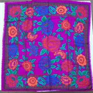 Challis by Berkshire floral scarf